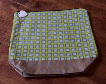 SALE! Bag project, knitting, fabric pouch bag