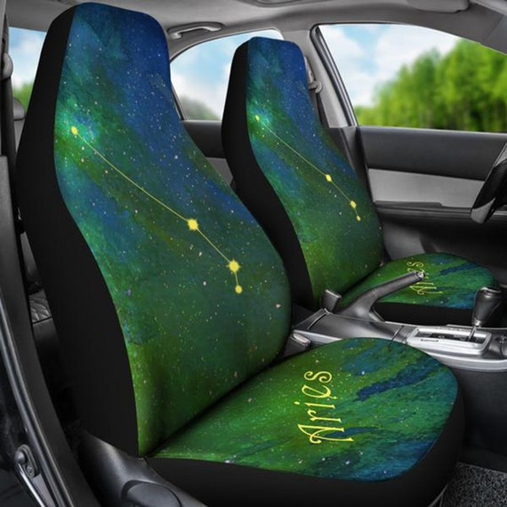 Astonishing Zodiac Aries Horoscope Car Seat Covers Spiritservingveterans Wood Chair Design Ideas Spiritservingveteransorg