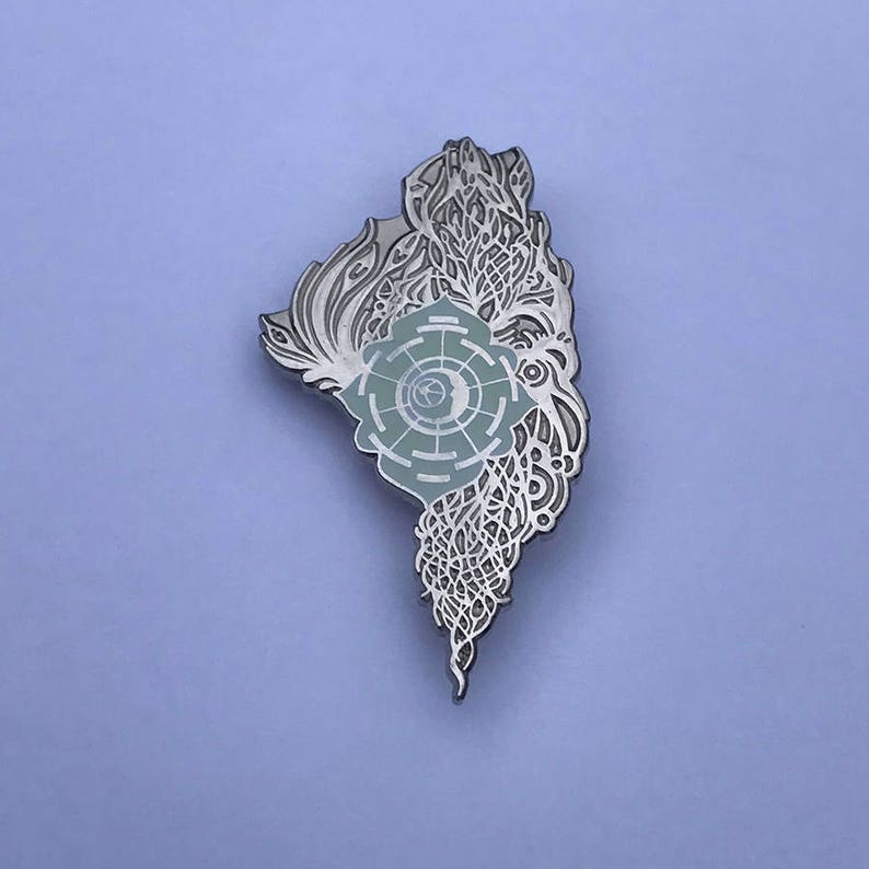 RARE Rootwire 2011 Pin  Glow in the Dark image 0