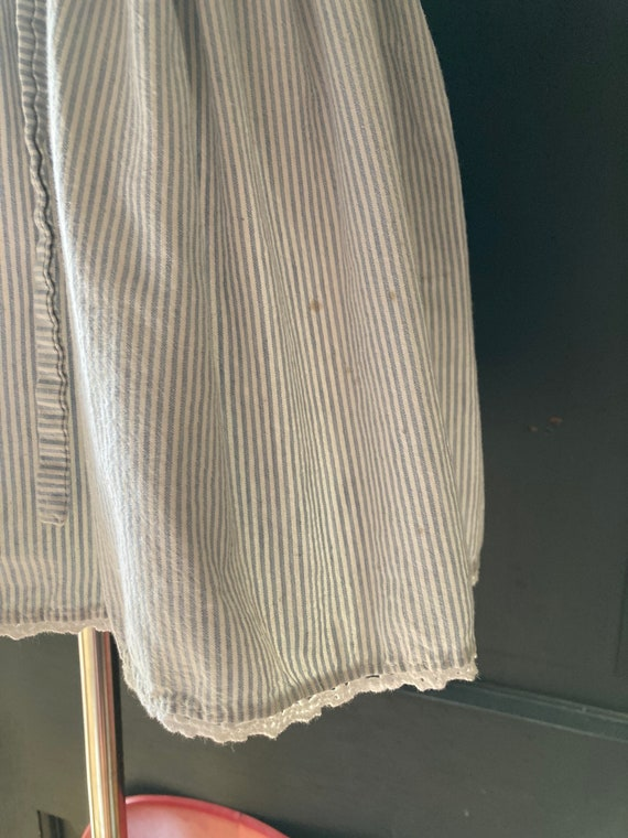 Vintage Light Denim Apron Dress   3/4t - image 4