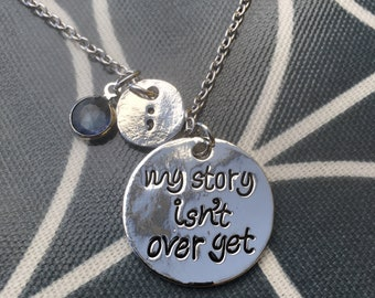 Mental health awareness necklace