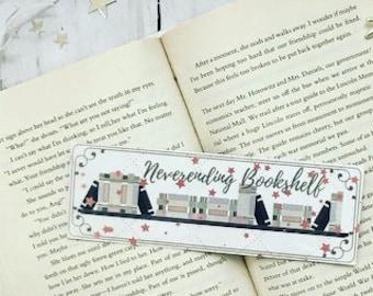 Neverending Bookshelf Bookmark books bookworm booklover