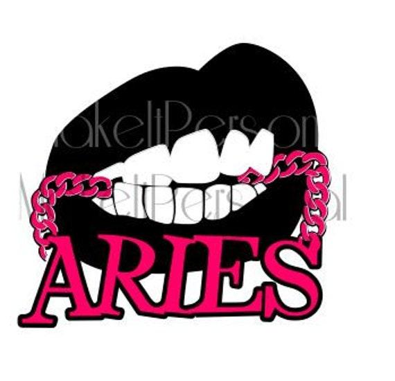 Aries Lips Svg Etsy