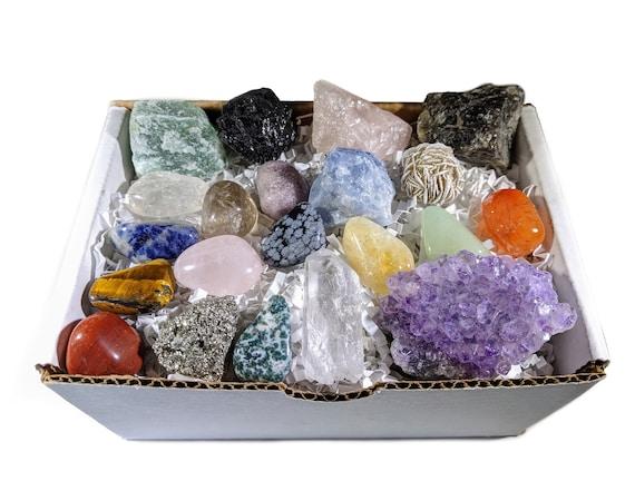 Healing crystal set//Crystals//beginners Crystal Set//amethyst//Tiger Eye