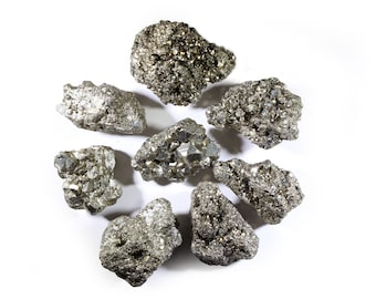 Pyrite Crystal Clusters-Natural Raw Pyrite Cluster-Golden Pyrite-Fools Gold-Bulk Crystals-Wholesale Crystals-Healing Crystals-Healing Stones