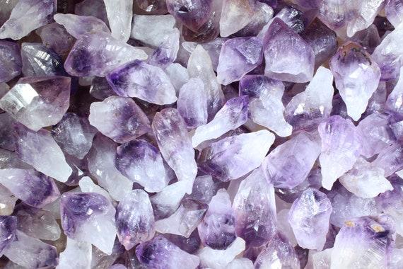 2019 New natural amethyst stone water drop charms pendants 30pcs//lot wholesale