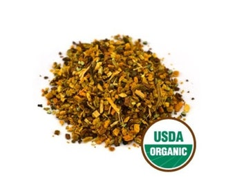Organic Turmeric Chai Tea Organic Chai Tea Organic Loose Leaf Chai Tea Chai Tea Blends Turmeric Root