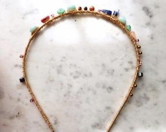 Ariadne Gemstone Headband
