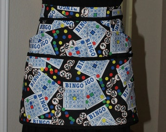 5 Pocket Half Apron Bingo Pattern