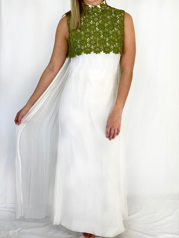 1960's Handmade Special Occasion or Wedding Dress