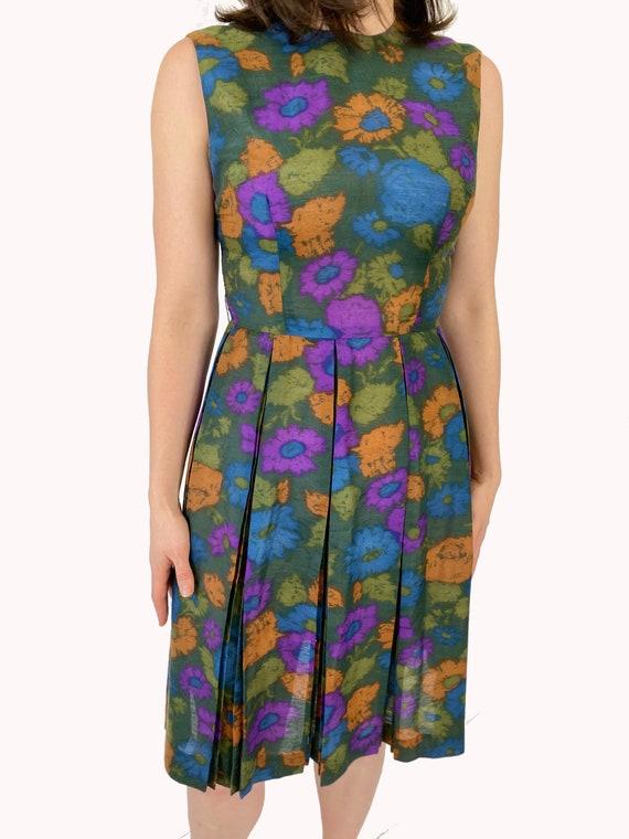 1960's Handmade Cotton Dress