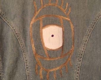 Eye vintage denim jacket
