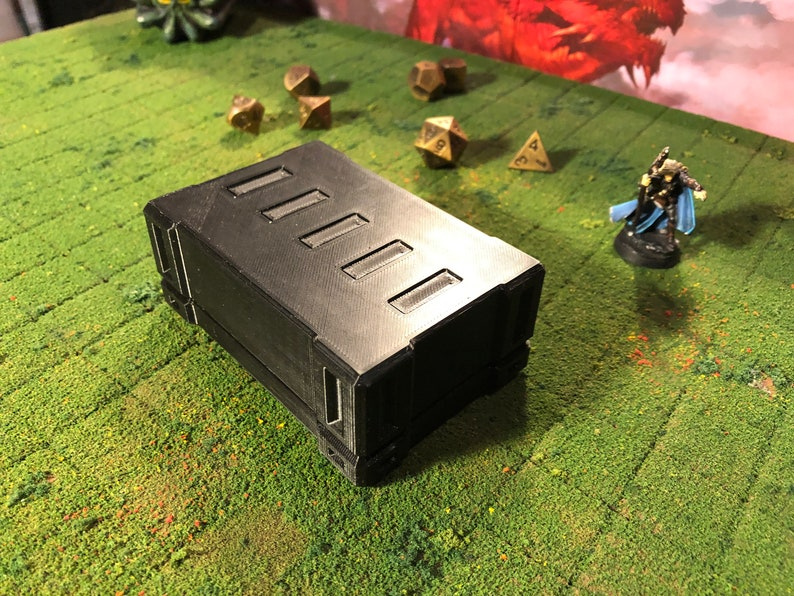 Magnetic storage box Initiative trackers for RPG/'s and Dnd