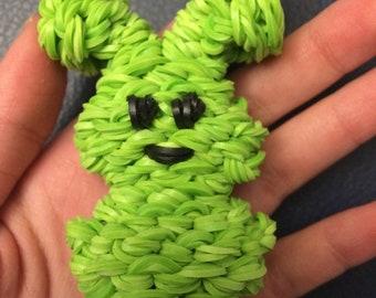 Happy Kawaii Peep Marshmallow Bunny