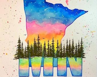 "Minnesota -""Amongst the Trees"""