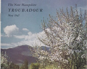 May 1947 New Hampshire Troubadour magazine