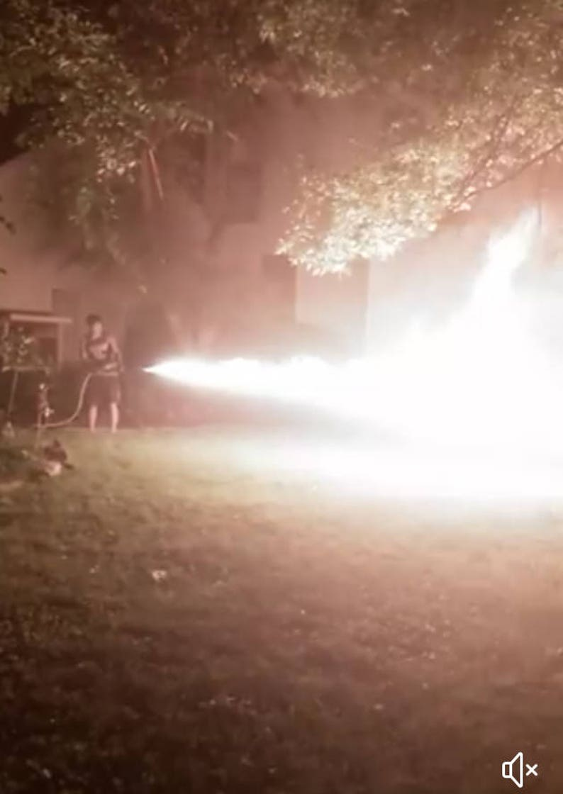 How To Make A Backpack Flamethrower