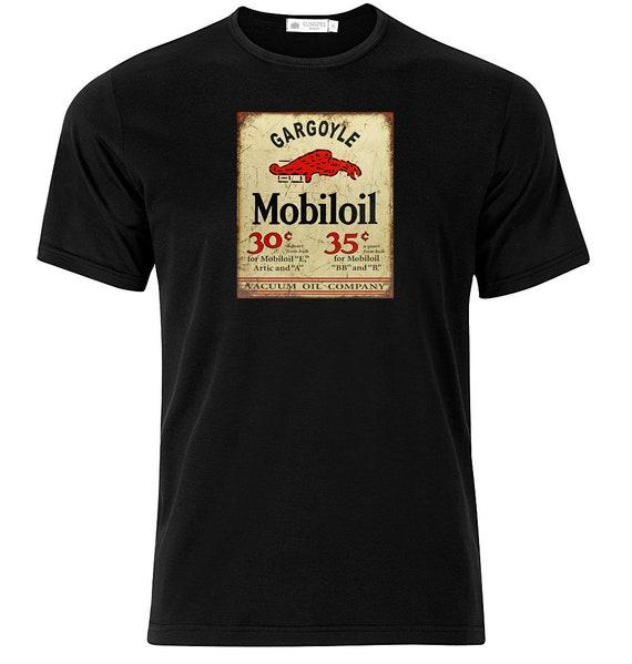 Graphic Cotton T Shirt Short /& Long Sleeve Mobiloil