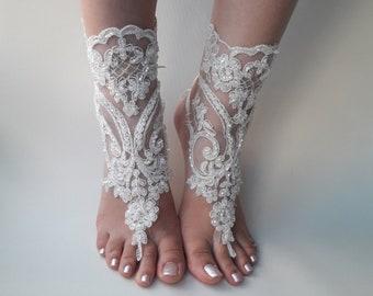 f7c9ca6283424 Lace barefoot sandals