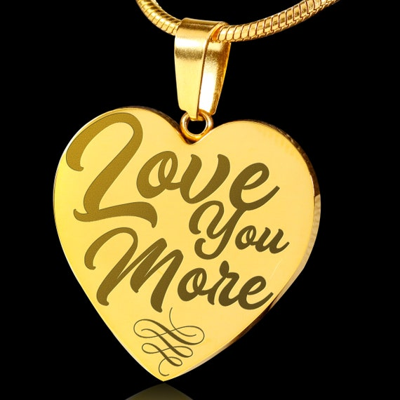 """Picture Photo Heart Locket Pendant 18/"""" Necklace I Love You 18K Gold Over Silver"""