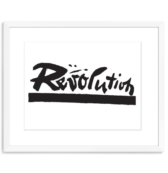 photograph regarding Printable Word Art titled Typography Print Term Artwork Assertion Artwork Print Revolution Radical Artwork Political tshirts Anarchist Patch Me also Handwriting Artwork Painted Indication