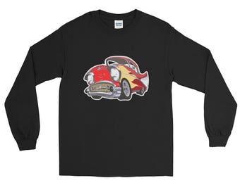 Vintage Hotrod Classic Car Long Sleeve T-Shirt