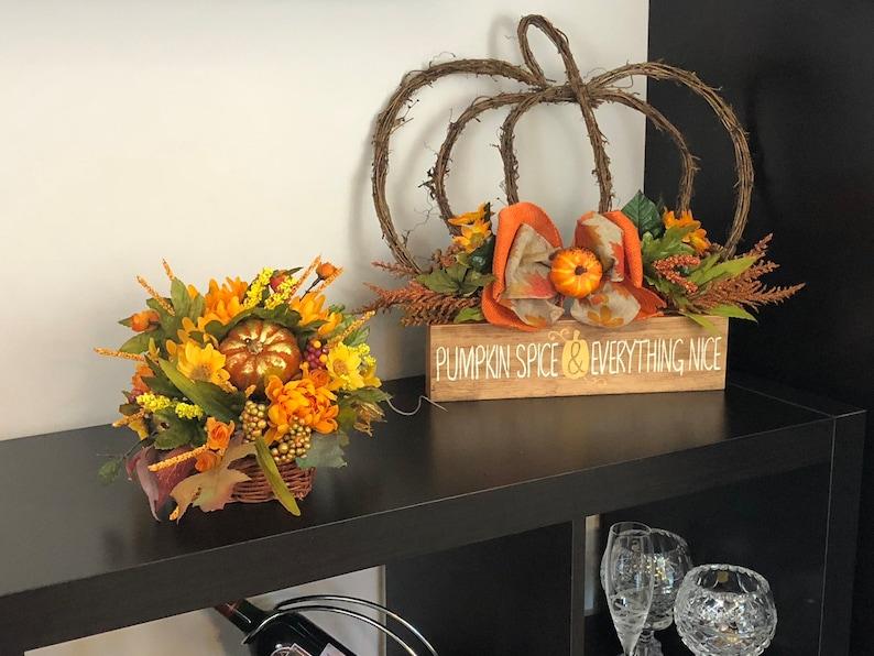 Cornucopia Centerpiece Fall Autumn Thanksgiving Party Decorations