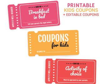photograph about Gum Coupons Printable called Coupon do-it-yourself Etsy