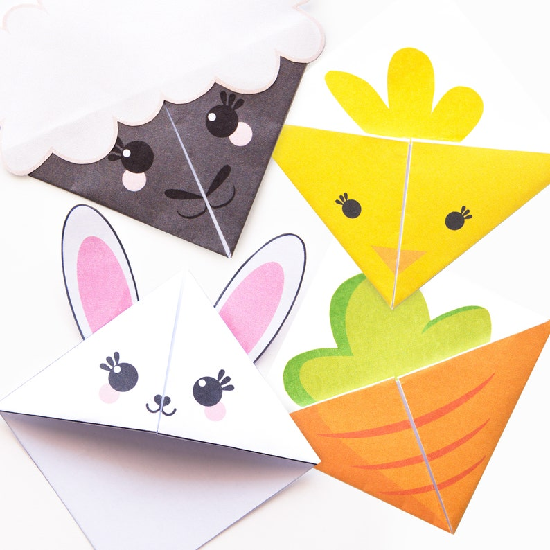 Easter Printable Bookmark Templates image 0