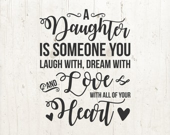 Daughter quote   Etsy