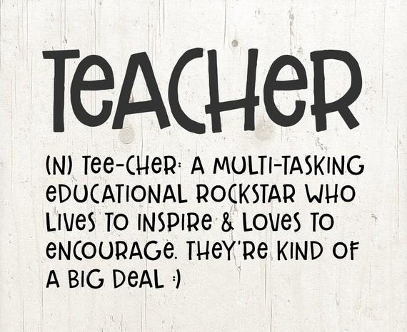 Teacher Quotes: Teacher Svg Files For Silhouette Cricut Teacher Svg Teacher