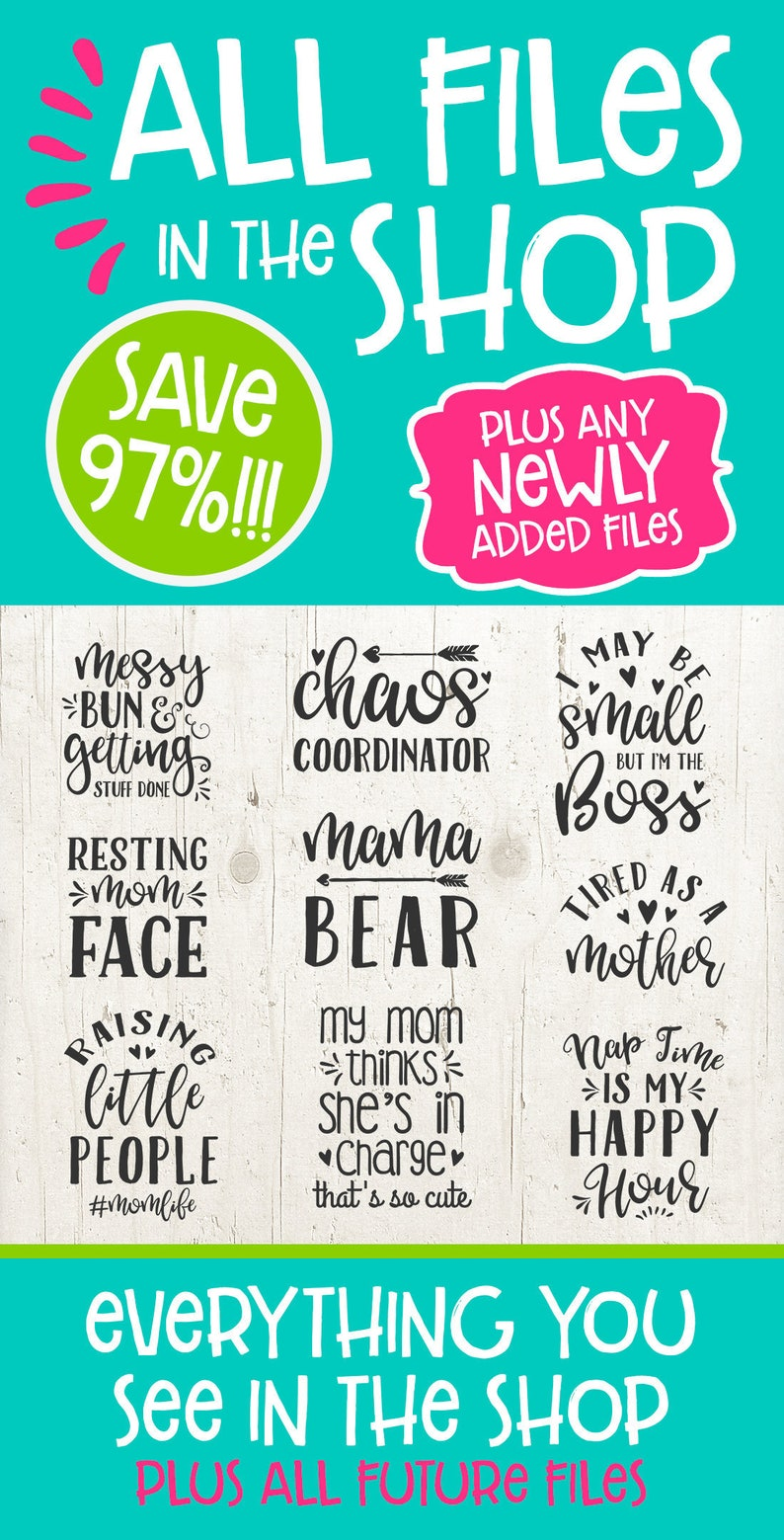 97% OFF SVG Bundle Sale! Huge Svg files for Cricut - All Svg In The Shop  Bundle - SVG files for Silhouette, svg, svg files sayings