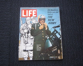 Life Magazine - February 5, 1971 - the new Army