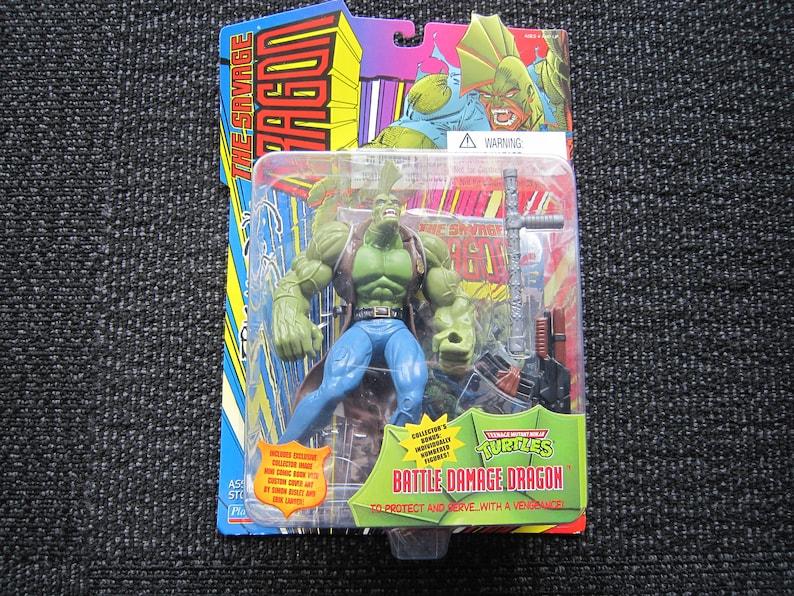 1995 TMNT Battle Damage Dragon MOC