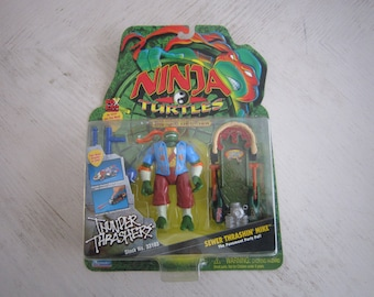 1997 TMNT Sewer Thrashin Mike - MOC