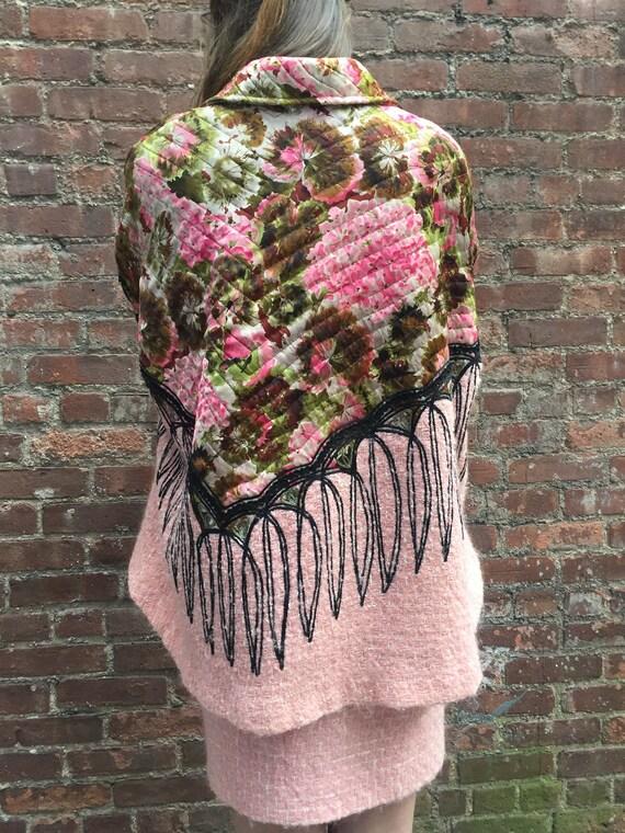 Koos van den Akker couture suit/vintage pink wool