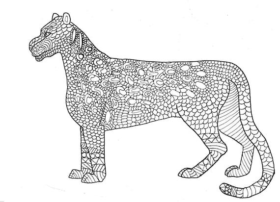 baby leopard zum ausmalen  malvorlagen