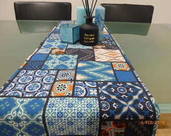 Moroccan Fabric Table Runner