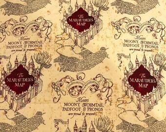 Marauders map   Etsy