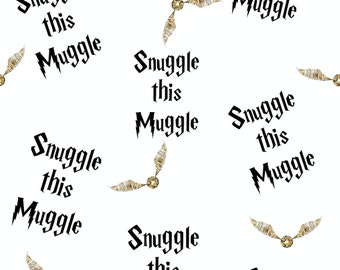 Harry Potter Fabric Print License Wizard Knit Cotton Muggle Jersey