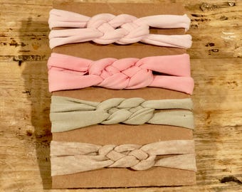 Sailor Knot Headband // Baby and Toddler Headband // Girl Headband