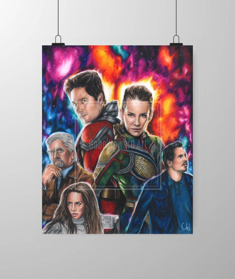 Ant Man And The Wasp Poster Fine Art Print Etsy