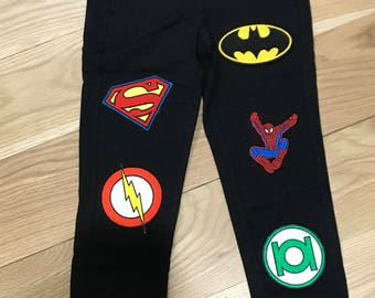 Custom superhero joggers