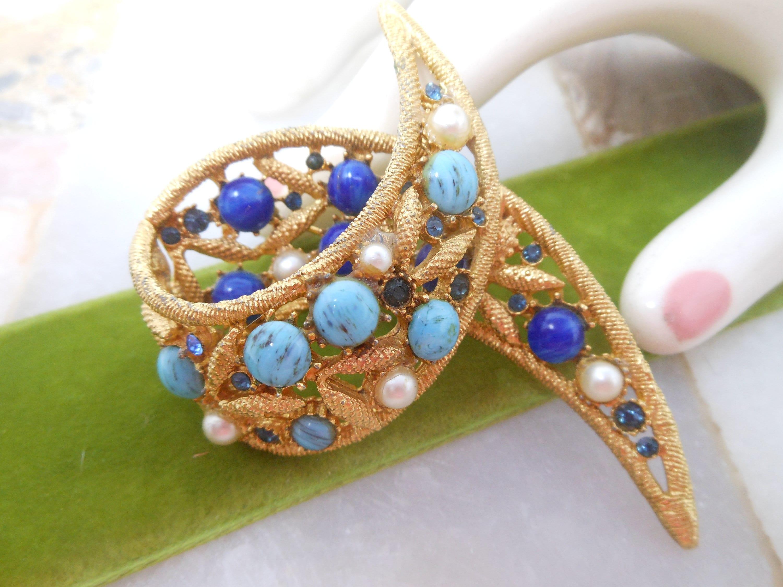 Vintage  Mid Century Jewelry Gift VivianJoel.com