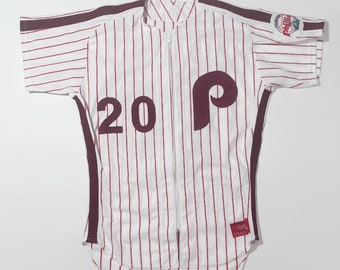 e1f2f449134 Mike Schmidt Philadelphia Phillies Salesman s Sample Authentic MLB Rawling  Baseball Jersey Size 40 Medium and Pants Size 32 Circa 1980s