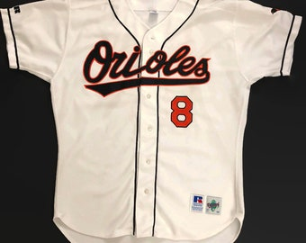 4793f64d3311 Cal Ripken Jr. Baltimore Orioles Authentic MLB Russell Athletic Baseball Jersey  Size 48 Circa 1990s
