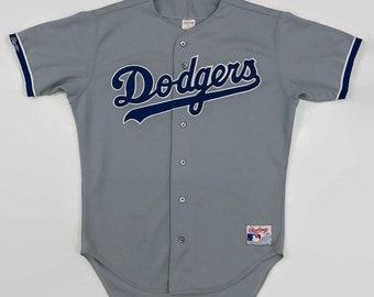 f58bebb41ac Los Angeles Dodgers Authentic MLB Rawlings Baseball Jersey Size 44 Large  Circa 1987-1991