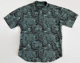 f31bf392 Reyn Spooner Vintage Aloha Print Shirt Size Medium Circa 1990s