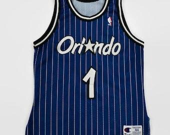 f31bfc19f Anfernee Penny Hardaway Orlando Magic Authentic NBA Champion Basketball  Jersey Size 44 Large Circa 1990s