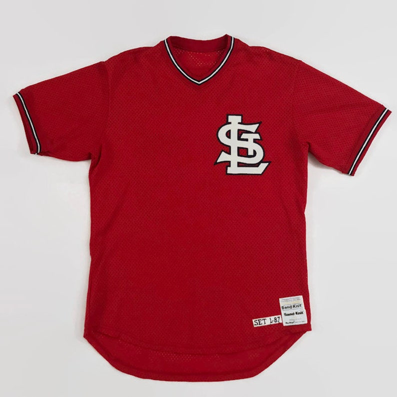 cfd190ef604 Skeeter Barnes St. Louis Cardinals Authentic MLB Sand Knit